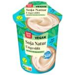 REWE Beste Wahl Soja-Joghurtalternative ohne Zucker 500g