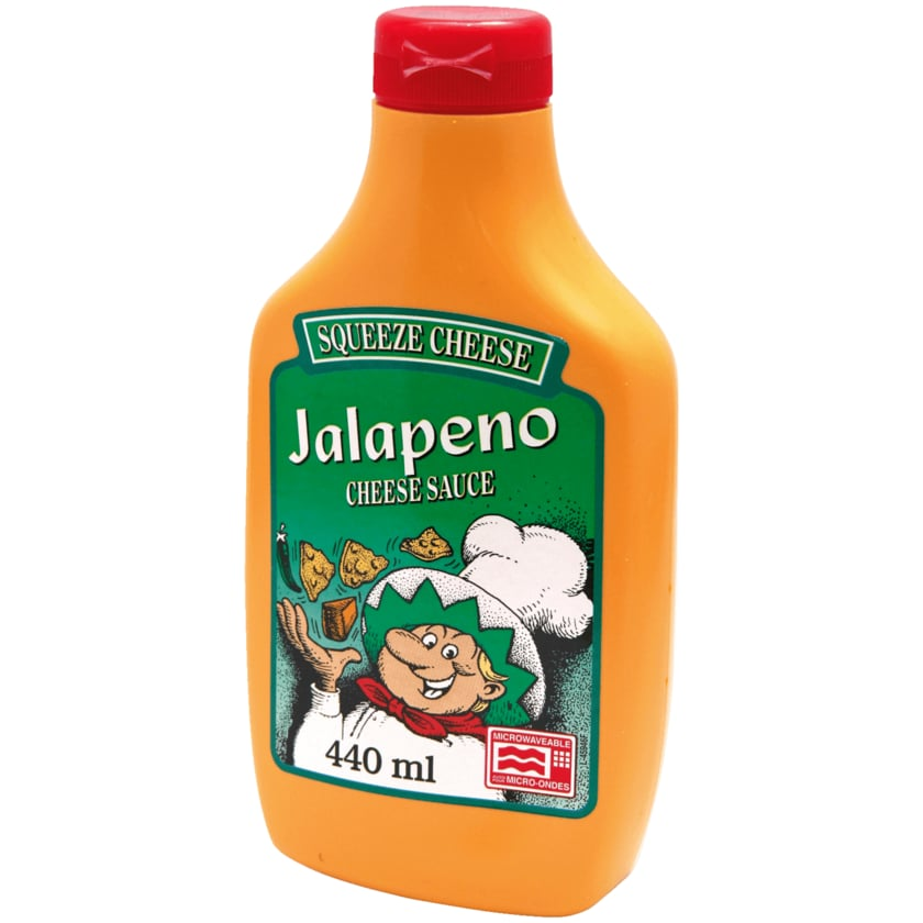 CMC Jalapeño Squeeze-Cheese 439g