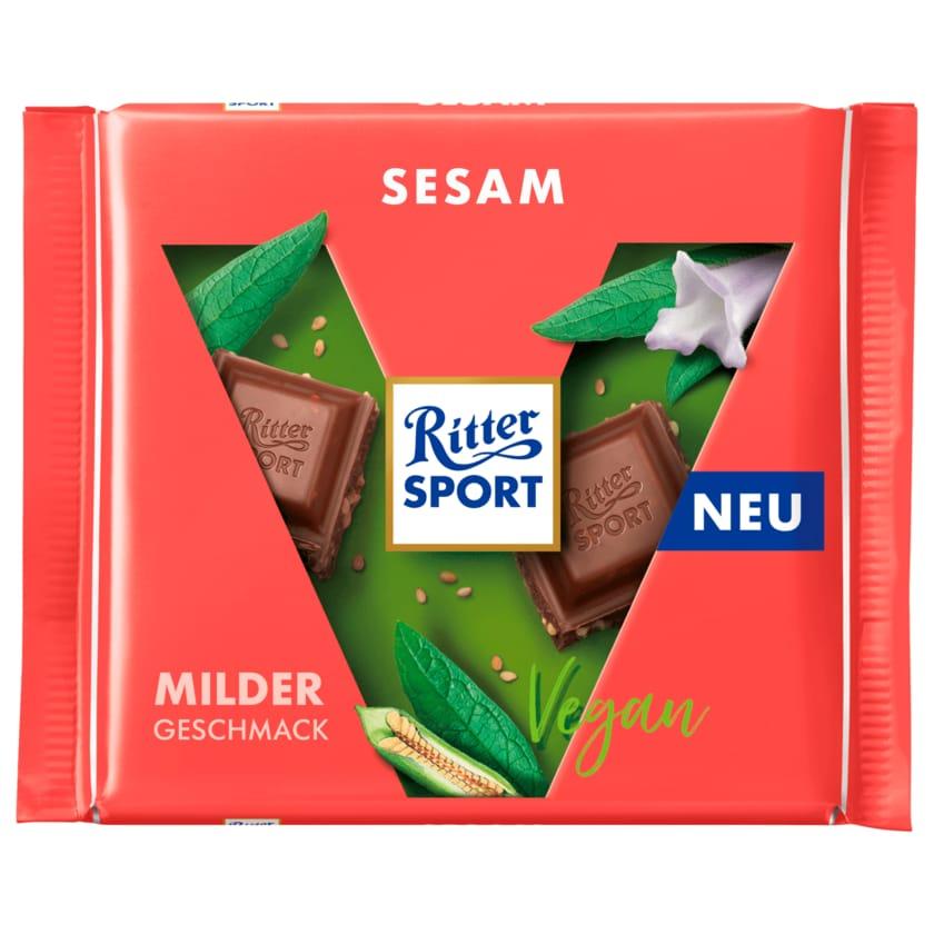 Ritter Sport Schokolade Sesam vegan 100g
