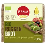 Pema Bio Roggen Brot Olive 375g