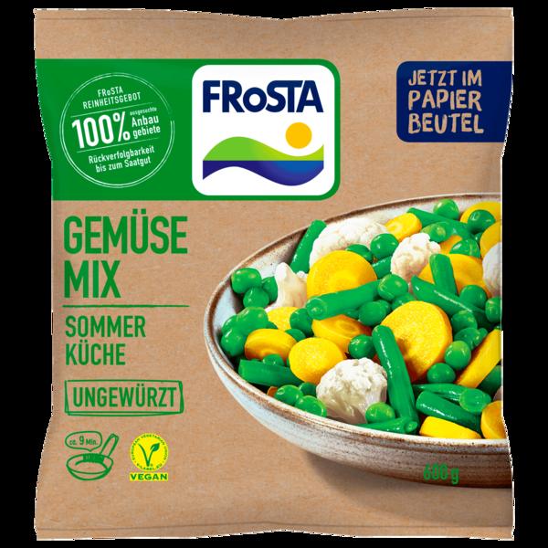 Frosta Gemüse Mix Sommer Küche ungewürzt 600g