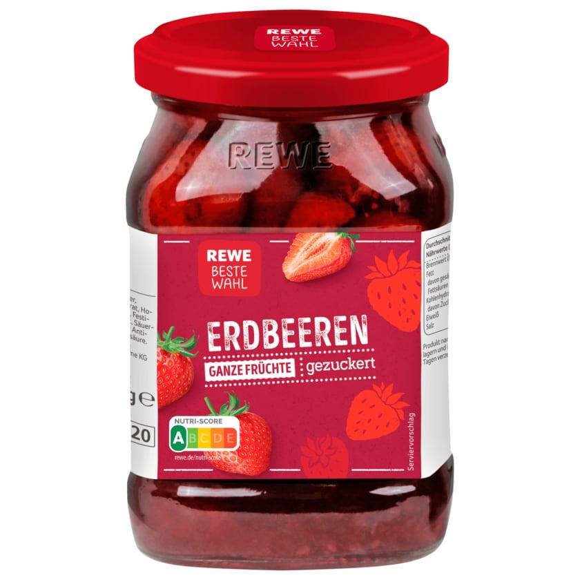 REWE Beste Wahl Erdbeeren gezuckert 245g