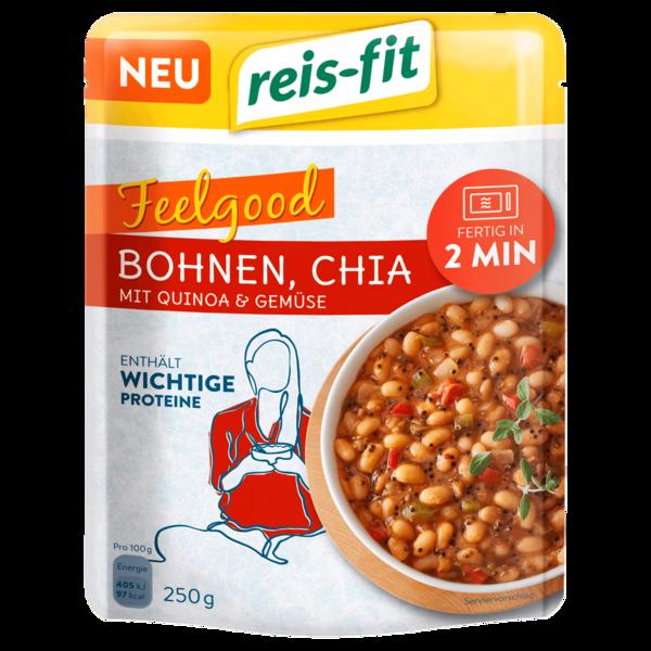 Reis-fit Bohnen Chia mit Quinoa & Gemüse 250g