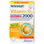 tetesept Tabletten Vitamin D3 2000 hochdosiert 50 Stück
