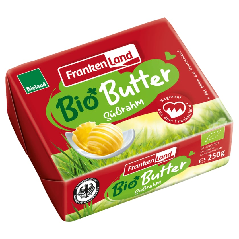 Frankenland Bio Butter Süßrahm 250g
