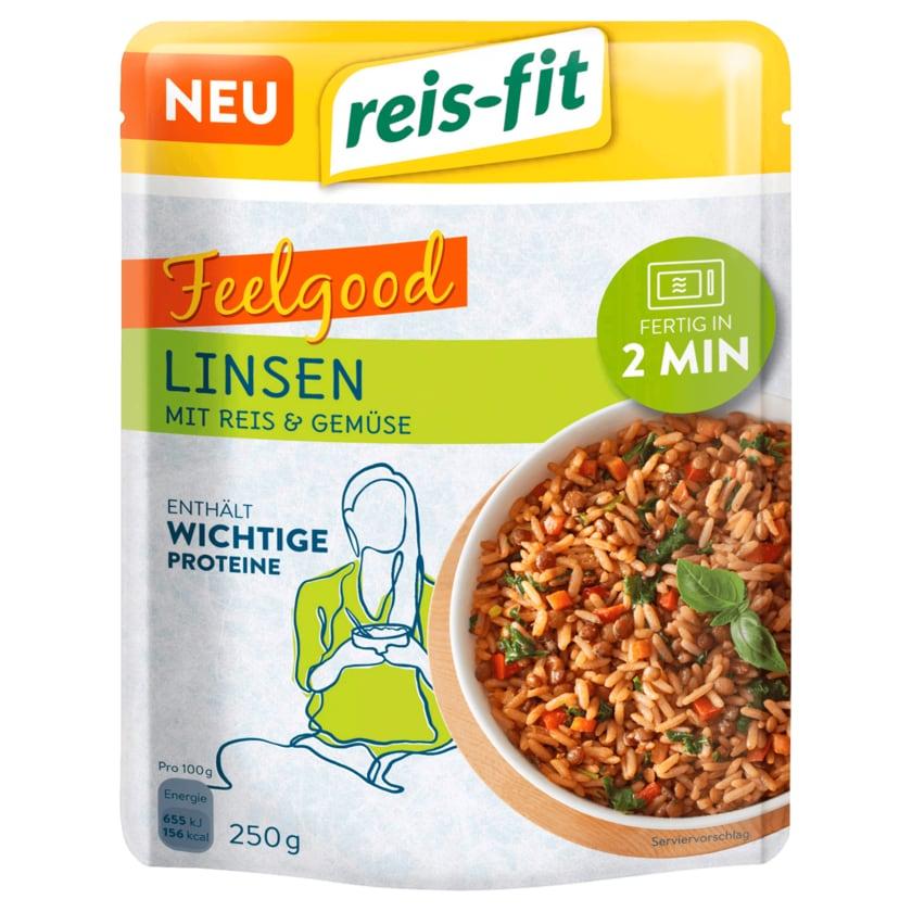 Reis-fit Linsen mit Reis & Gemüse 250g