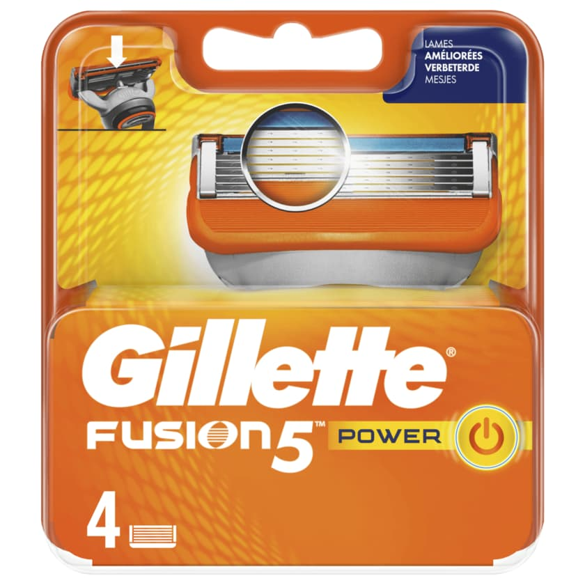Gillette GILLETTE Klingen Fusion5 Power System 4er