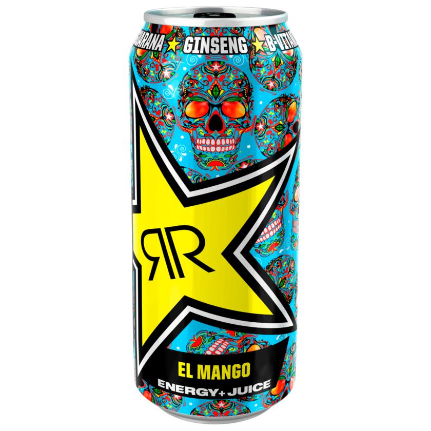 Rockstar El Mango Energy and Juice 0,5l