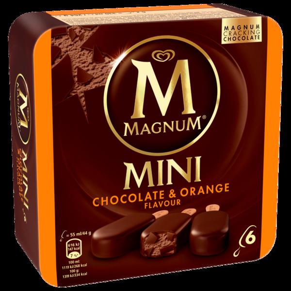 Magnum Mini Chocolate & Orange 6x55ml