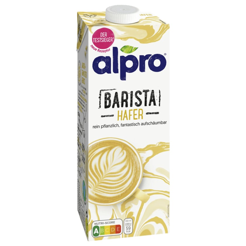 Alpro Hafer-Drink Barista vegan 1l