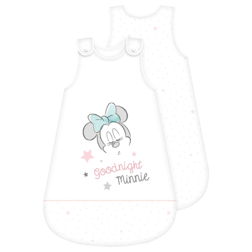 Baby Schlafsack Minnie Weiß 70x45cm