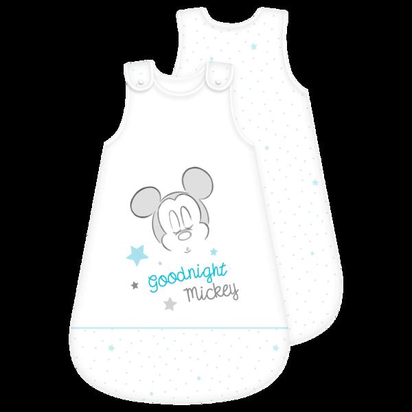 Baby Schlafsack Mickey Weiß 110x45cm