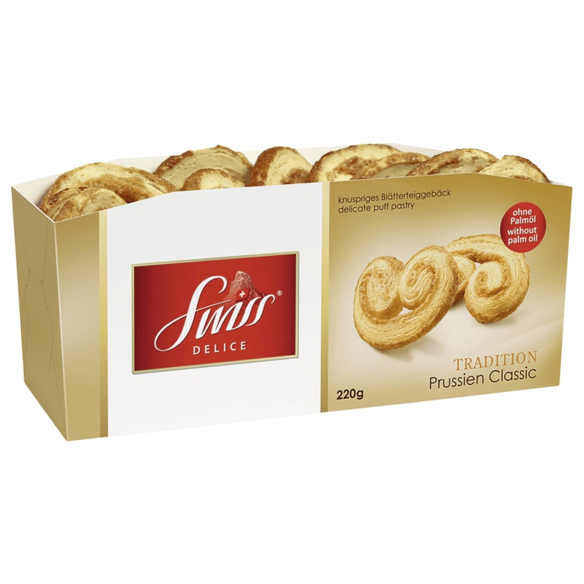 Swiss Delice Prussien Classic 220g
