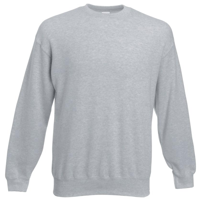 Herren-Sweatshirt 2er Pack grau + blau L
