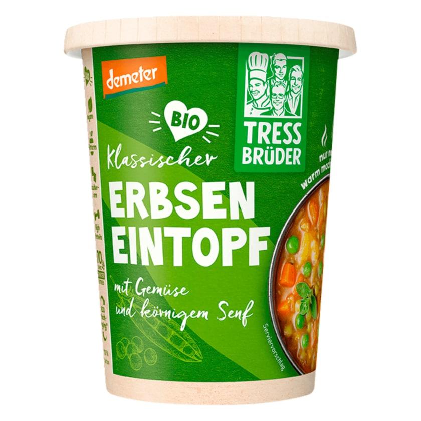 Demeter Bio Erbseneintopf mit Gemüse und Senf 400g