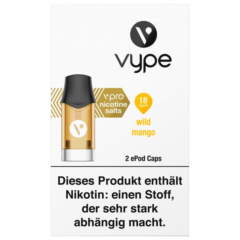Vype Wild Mango 2 ePods Caps 18mg/ml