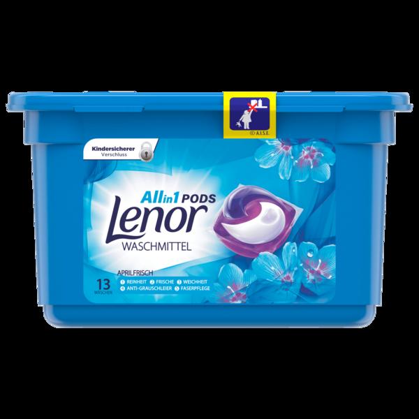 Lenor All in 1 Waschmittel Pods Aprilfrisch 13 WL 26.4g
