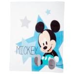 Baby Kuscheldecke Mickey Weiß/Blau