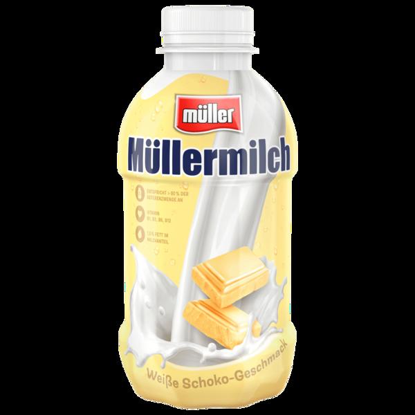 Müller Müllermilch Weiße Schoko-Geschmack 400ml