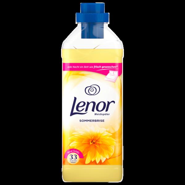 Lenor Weichspüler Konzentrat Sommerbrise 33 WL 990 ml
