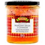 Agrico Fleischkonserve mit Knoblauch 300g