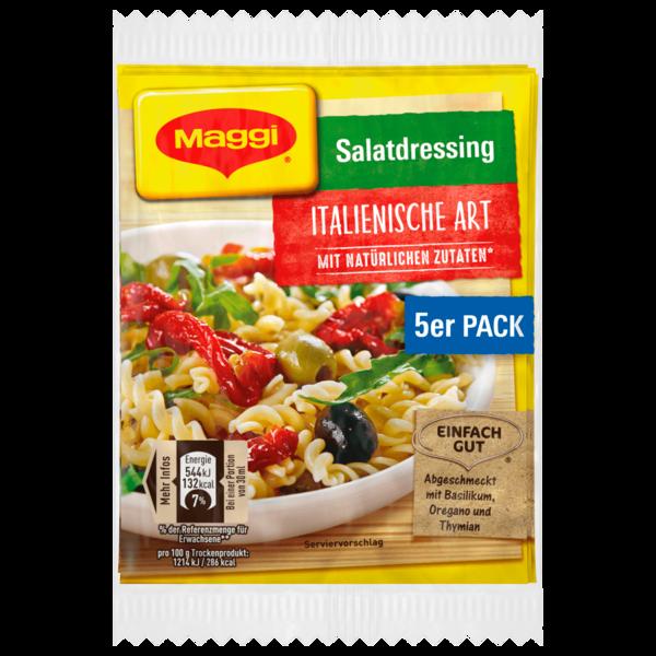 Maggi Salatdressing Italienische Art 40g, 5x8g