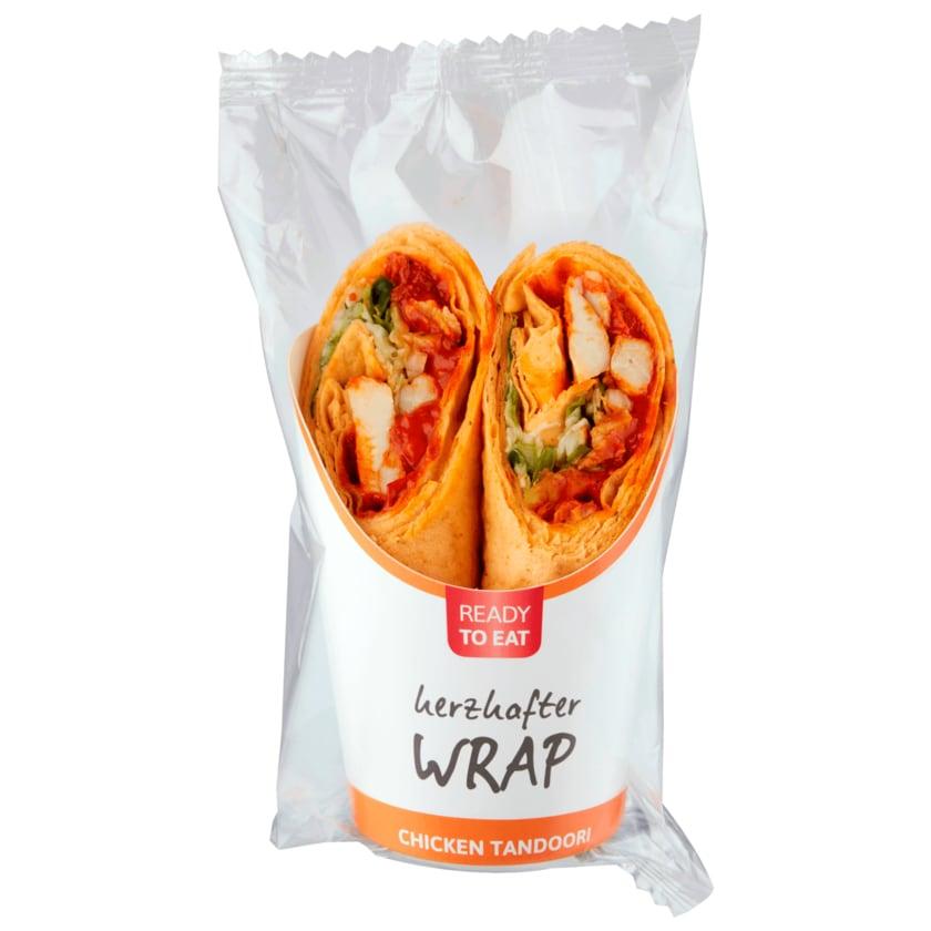 Ready to eat herzhafter Wrap Chicken Tandoori 190g