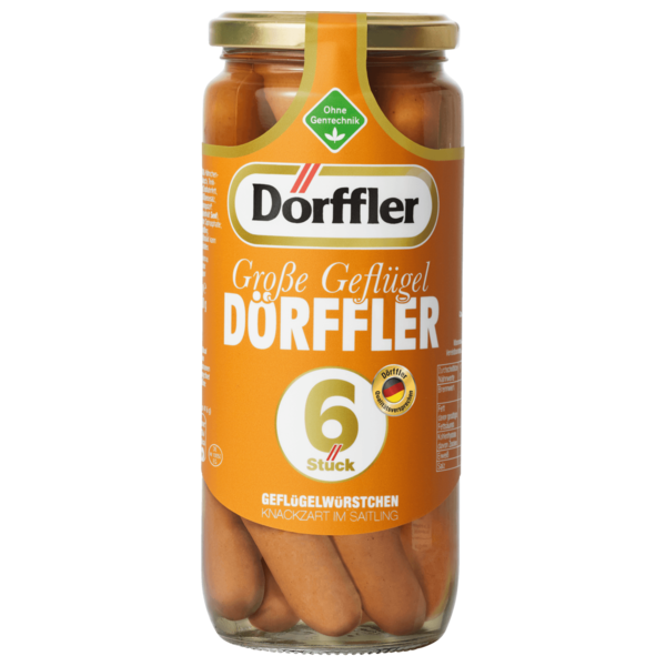 Dörffler Große Geflügel Dörffler 250g, 6 Stück