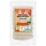 REWE Beste Wahl Mini Geflügel Bratwurst 200g