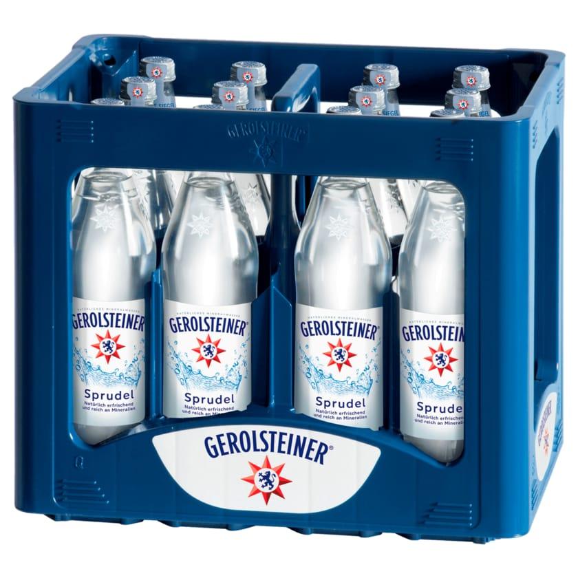 Gerolsteiner Mineralwasser Sprudel 12x0,75l