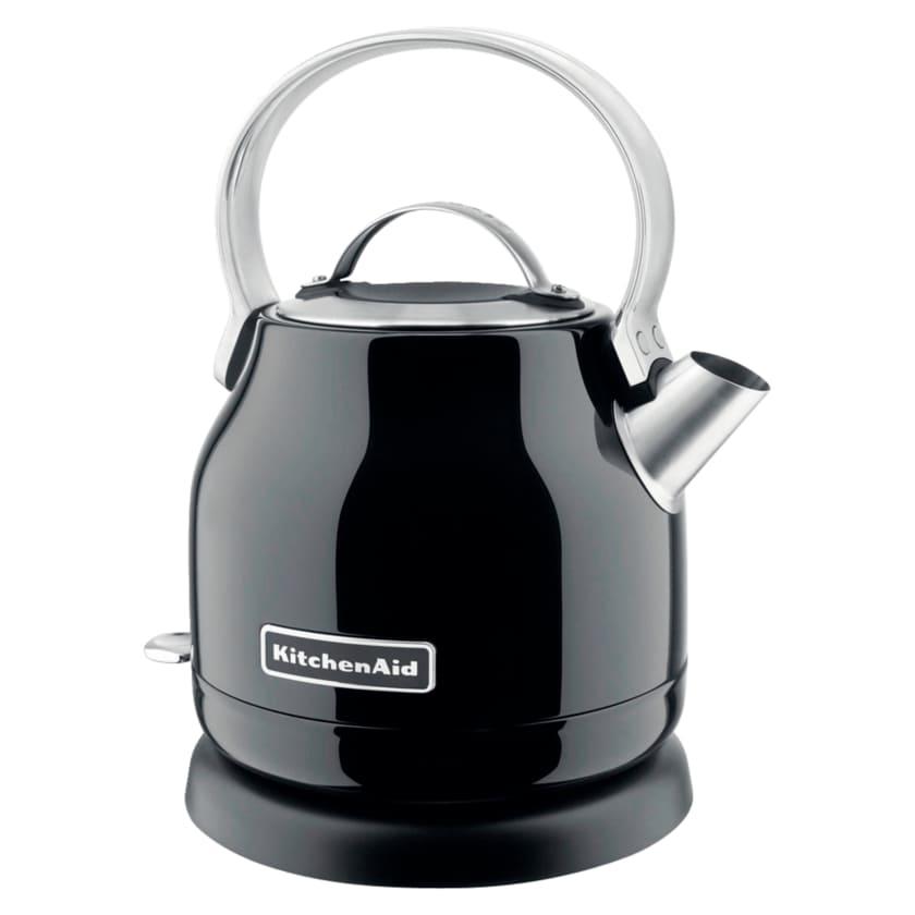 KitchenAid Classic Wasserkocher 1,25l schwarz 5KEK1222EOB