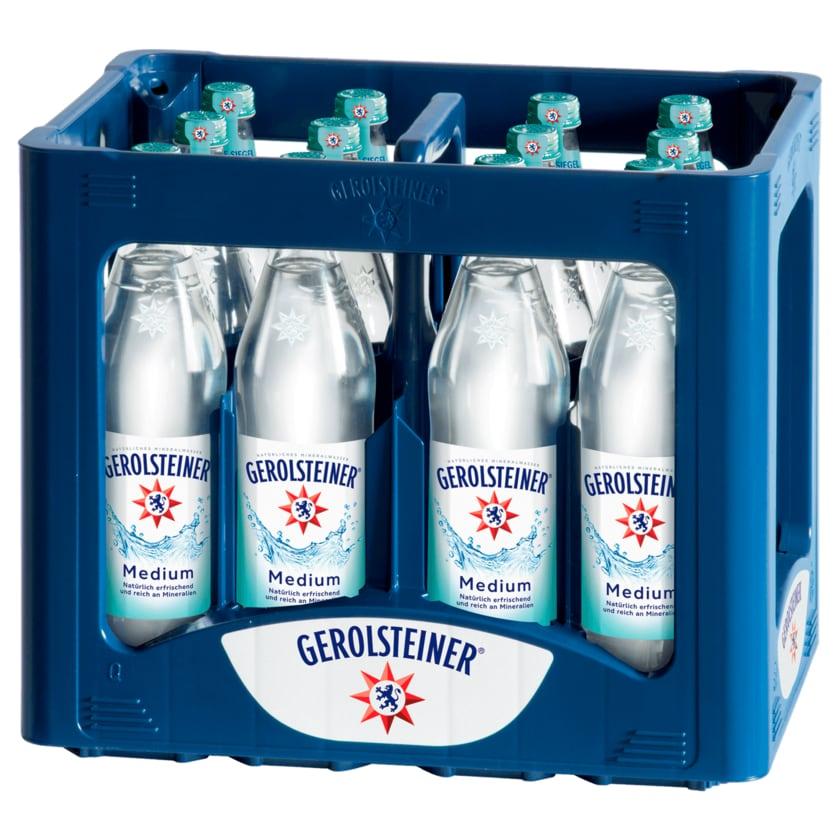 Gerolsteiner Mineralwasser Medium 12x0,75l