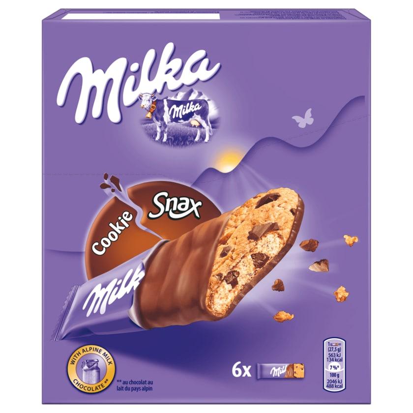 Milka Cookie Snax 165g