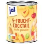 ja! 5-Frucht-Cocktail 500g