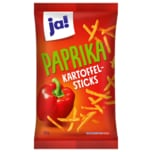 ja! Paprika Kartoffel-Sticks 125g