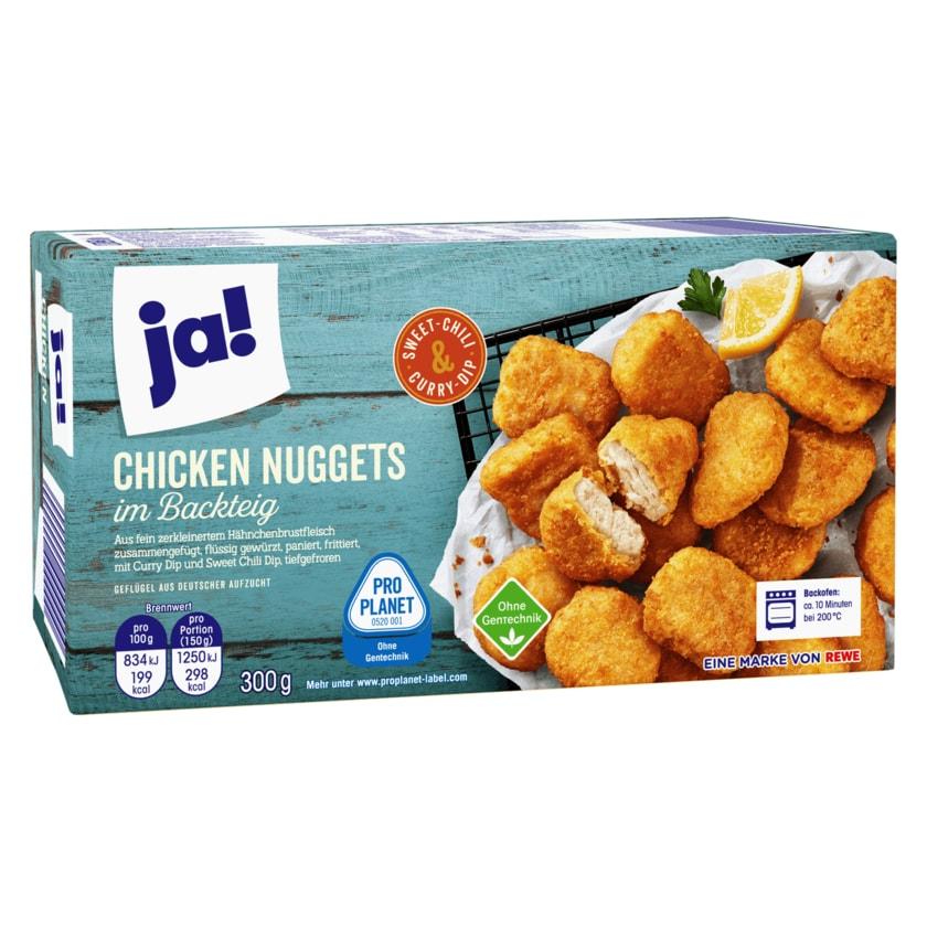 ja! Chicken Nuggets im Backteig 1000g