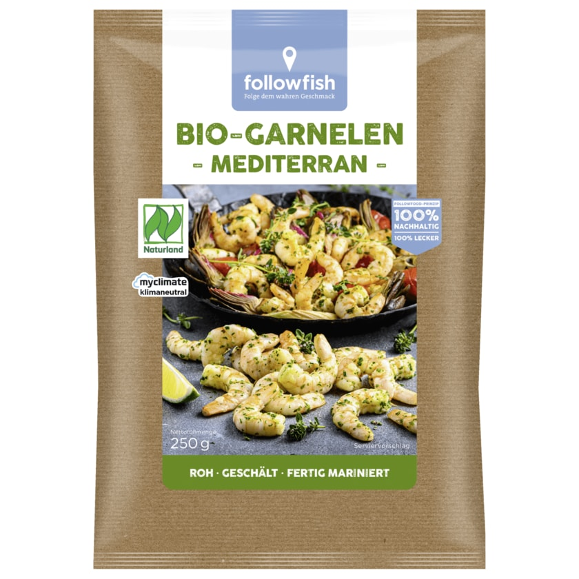 Followfish Bio Garnelen Mediterran 250g