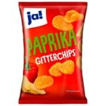ja! Gitterchips Paprika 125g