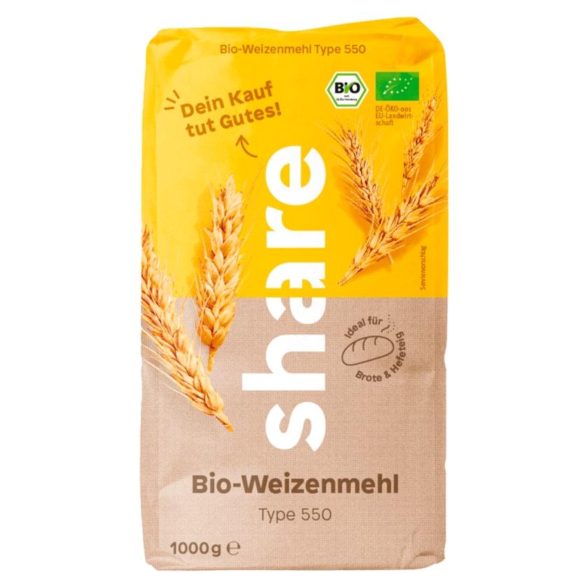 Share Bio-Weizenmehl Type 550 1kg