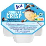 ja! Joghurt Crisp Vanillejoghurt & Schokoperlen 175g