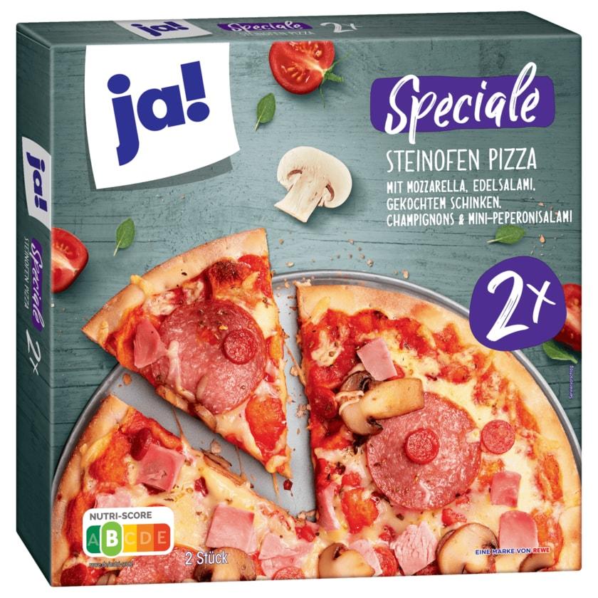 ja! Steinofen Pizza Speciale 2 Stück