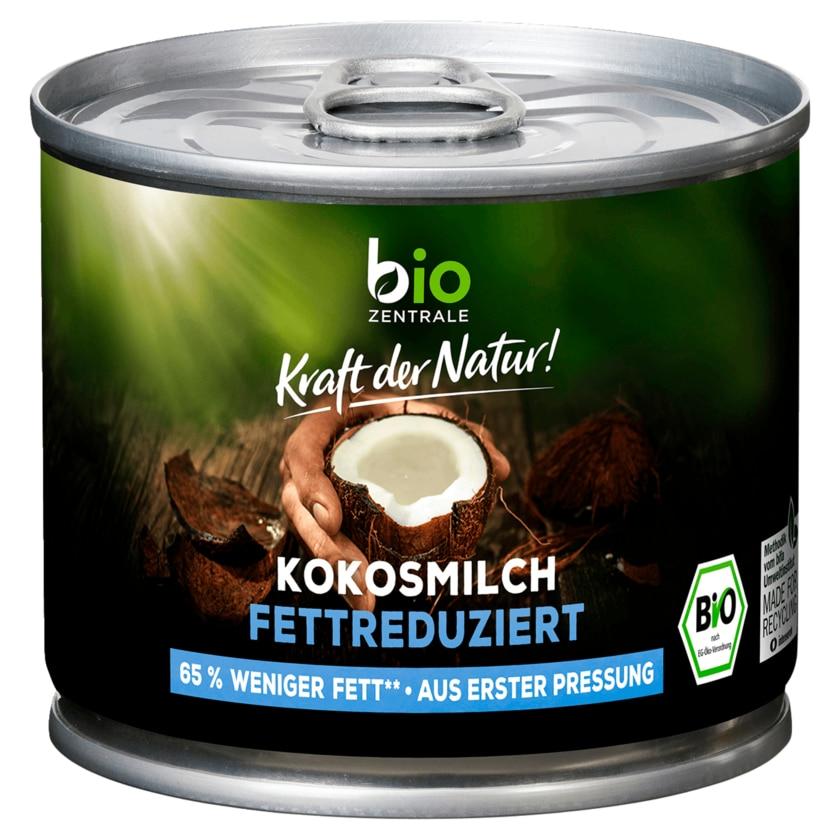 Biozentrale Bio Kokosmilch fettreduziert 200ml