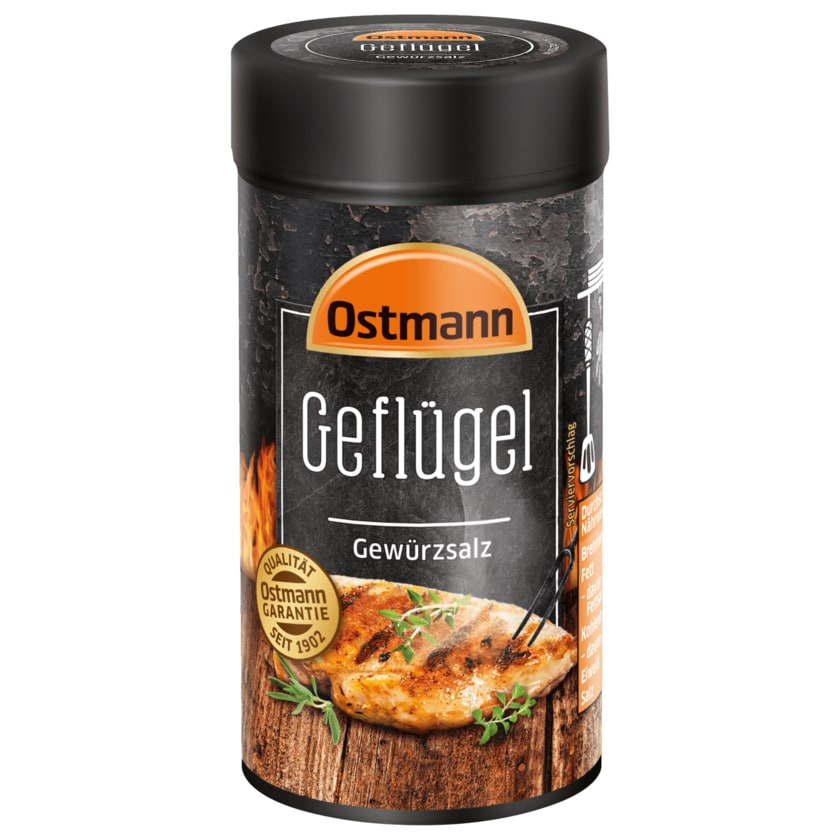 Ostmann Geflügel Gewürzsalz 125g