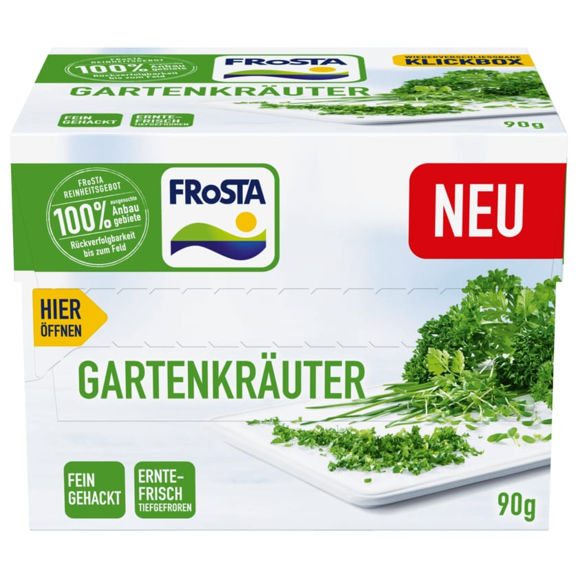 Frosta Gartenkräuter 90g