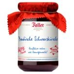Faller Badisceh Schwarzkirsche Konfitüre extra 330g