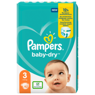 Pampers Baby Dry Gr.3 6-10kg 42 Stück