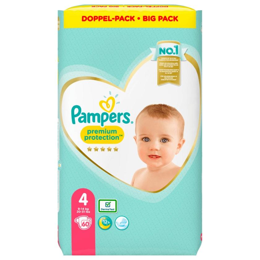 Pampers Premium Protection Gr.4 9-14kg Big Pack 60 Stück