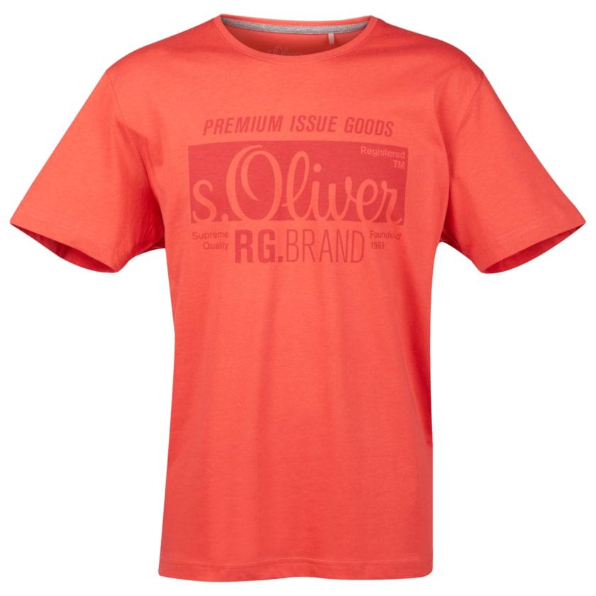 S.Oliver Logoshirt Größe M in Rot