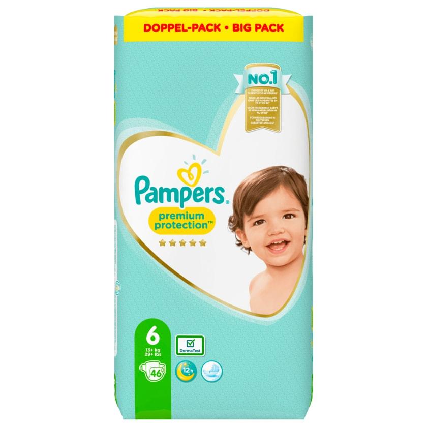 Pampers Windeln Premium Protection Gr.6 13-18kg Big Pack 46 Stück