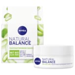 Nivea Natural Balance mit Aloe Vera Feuchtigkeitsspendende Tagespflege 50ml